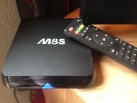 Android M8S TV box with Kodi and much more