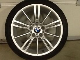 18INCH 5/120 BMW MV3 ALLOY WHEELS WITH TYRES FIT MOST MODELS ETC