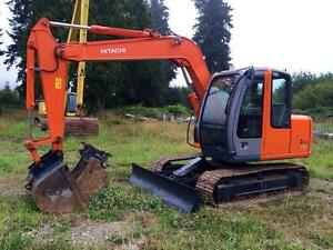 Hitachi ZX70 2008, Low Hours
