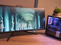 Acer Predator X34P 34 Inch QHD, Black (IPS Panel, G-Sync, 100 Hz, 4 ms, ZeroFrame, DP, HDMI)