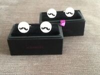 2 sets Brand new cuff links perfect for wedding/birthday/special occasions