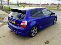 Honda Civic mk7 Ep2 Sport - Full Ep3 Type R Replica - All parts available - Cheap