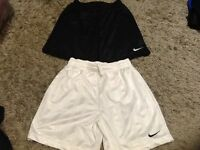 2 pairs of Nike football shorts