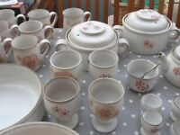 Genuine Denby Gypsy Hugh Collection Down Sizing Set. Bargains perfect conditions
