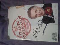 Late Rik Mayall autograph