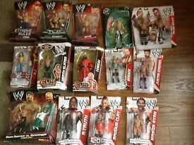 Wwe wrestling figures in original boxes / WWE figures