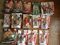 Wwe wrestling figures in original boxes / WWE figures