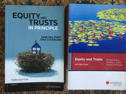 Law textbooks - Equity and Trusts