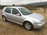 volkswagen golf 1.9 gt tdi 130 2001/51 plate with 209k and a september 2018 mot..