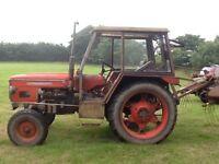 Zetor 6718 tractor