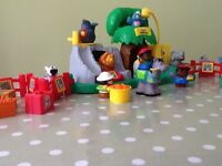 Fisher price little people zoo and farm set.
