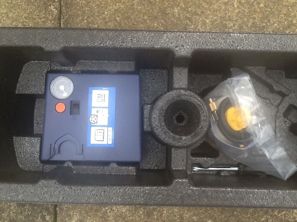 Emergency Tyre Inflation Kit For Vauxhall Corsa In Alloa