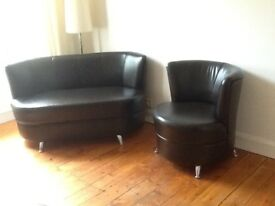 Brand new Reception/Waiting room/Hairdresser etc Leather sofas