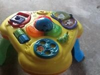 Fisher price baby activity table very good condition.