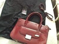 Brand new ladies patent leather handbag. Jasper Conran