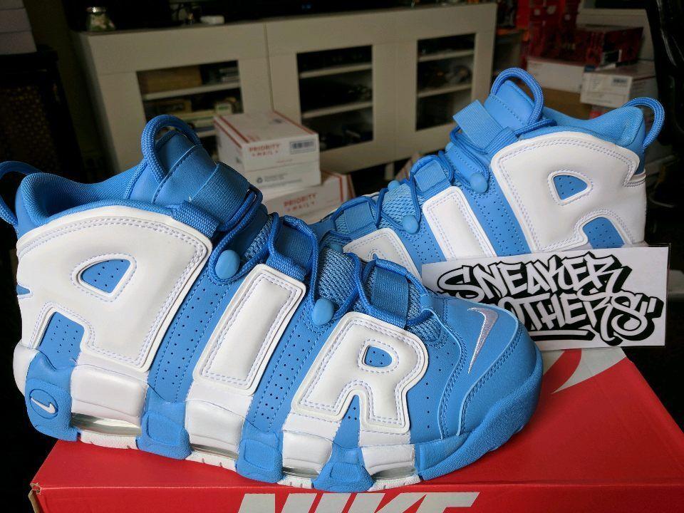 Nike Air More Uptempo '96 University Blue White UNC Scottie Pippen 921948-401