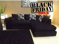 Brand new Black Friday luxury corner sofa fast delivery