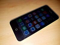 iPhone 5c 16GB Yellow boxed unlocked Swap to android