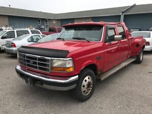 1995 Ford F-350 XLT DIESEL 2wd Crew can dually