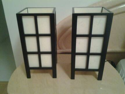 Set of 2 bedside table lamps Jindalee Wanneroo Area Preview