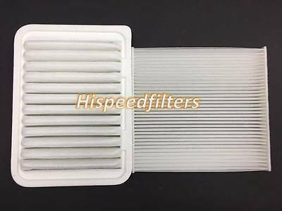 Combo Set Cabin Air filter and Engine Air filter for TOYOTA Corolla Matrix Yaris