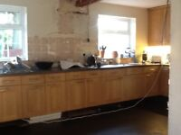 Used magnet kitchen with appliances