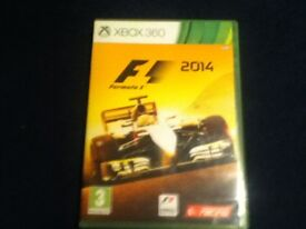 for sale a used F1 2014 xbox 360 game