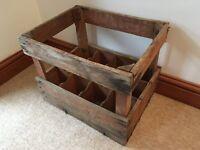 Vintage Wooden Wine Crate***£15***