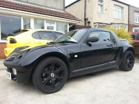 Smart Roadster with full M.o.T and unmarkedTeam Dynamics alloys
