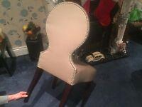 HANDSOME SHABBY CHIC VANITY DESK MAKE UP SEAT CHAIR - IDEAL BEDROOM LIVINGROOM BOAT CAMPERVAN ++++++