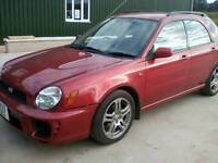 2001 Subaru impreza 1.6 estate