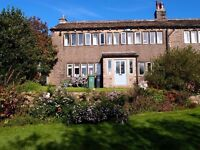 Grade II listed, 3 bedroom weavers' cottage with outstanding rural views available January 2017