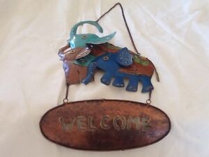 Welcome sign with elephants Tumut Tumut Area Preview