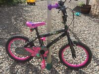 """Girls 16"""" bike. Hardly Used. Great condition"""