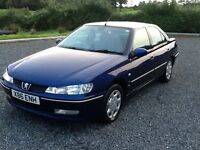 2000 PEUGEOT 406 2.0 HDI 110BHP BLUE 4XE/WINDOWS GREAT DRIVER GOOD CONDITION CLIMATE CONTROL NO MOT