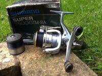 Shimano super 2500GTMRA spinning fishing reel