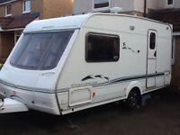 Swift Challenger 480 ES 2 berth touring caravan (2003)