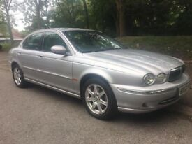 Jaguar X Type, 2.1 Auto, Mot, Silver with grey leather