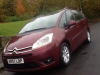 2007 CITREON C4 GRAND PICASSO 1.6 HDI VTR PLUS AUTOMATIC 7 SEATER
