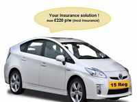 Rent uber ready, **15 plate incl INS £220p/w**TCA