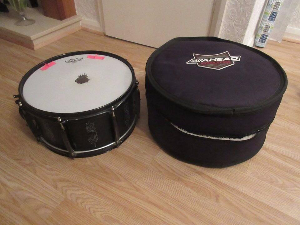 "Pearl Joey Jordison 13"" x 6.5"" snare drum & case"