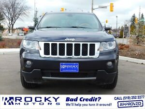 2012 Jeep Grand Cherokee Overland $32,995 PLUS TAX