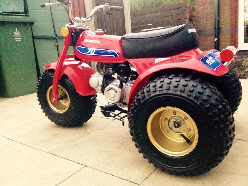 Honda Atc 70 : Immaculate honda atc  lt z r pw quad in