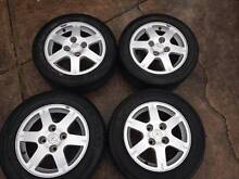 Mitsubishi Lancer CH Alloy wheels x4 Dural Hornsby Area Preview