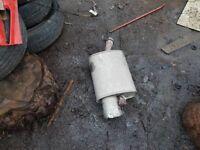 fiesta exhaust power flow back box