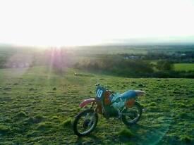 Honda mtx 125, dirt bike
