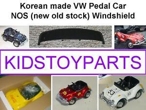 VINTAGE Windshield Wind Screen FOR VW VOLKSWAGEN BEETLE BUG PEDAL CAR