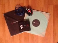 Rane Serato SL2 Digital Vinyl System Good Condition + two Serato Performance-Serie Vinyl Glow