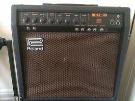 Roland bolt 30 valve/solid state hybrid vintage amp