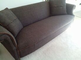 Harris Tweed 3 Seater Sofa